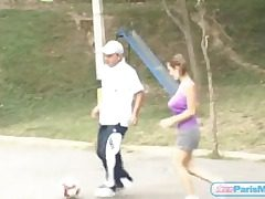 Chubby knockers frolic painless teen plays soccer
