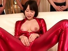 japanese body-suit cosplay newborn bottomless gulf throating hollow out