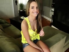 Guy deepthroated off by and fucking his babysitter Kimmy Granger