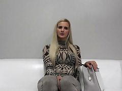 Hot sex industry star audition and jizz shot