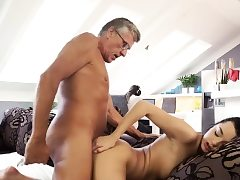 My sugar father fuck me and old man anal hd What would you