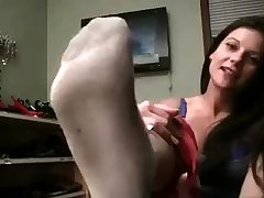 Hot unexperienced busty brunette jerk in cam
