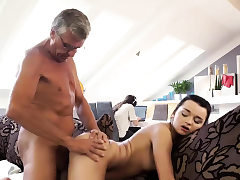 DADDY4K. Boy is occupied with computers so why Girlfriend