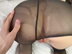 Rapid Nail with the Brilliant School Doll in Pantyhose
